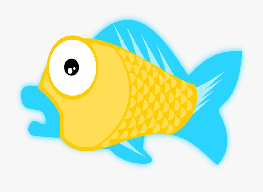 Fish Clipart Ocean Life - Public Domain Clip Art Images Free For Commercial Use, Transparent Clipart