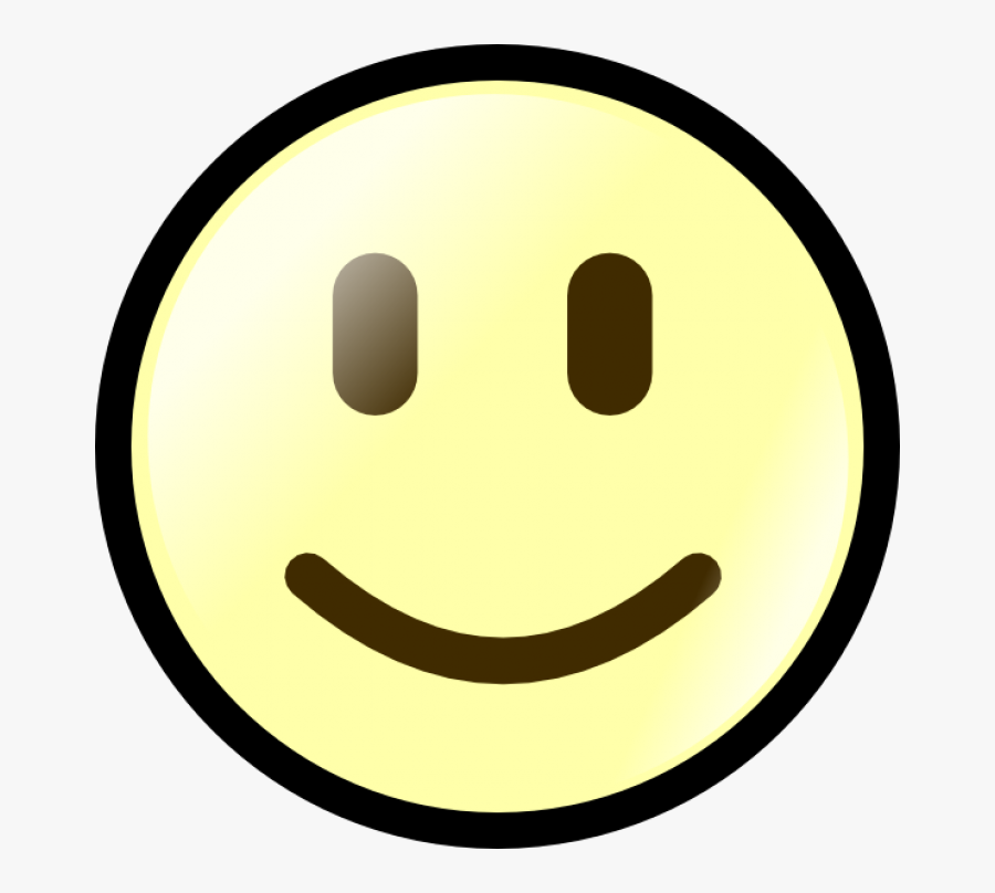 Smiley Face Happy And Sad Face Clip Art Free Clipart - Normal Face Clip Art, Transparent Clipart