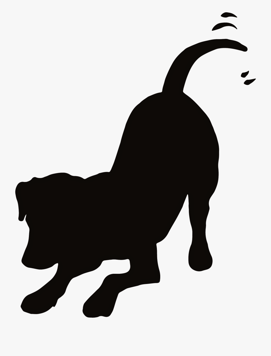 Dog Clip Art, Spiritual Meditation, Silhouette Clip - Dog And Cat Playing Silhouette, Transparent Clipart