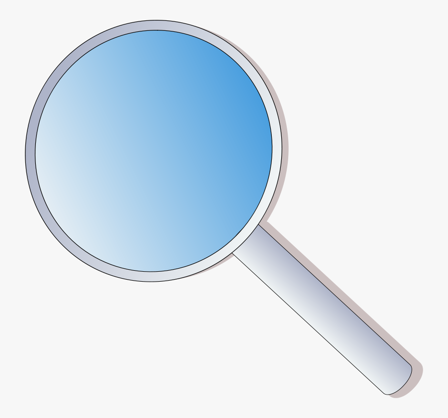 Rihard Magnifying Glass Clip Art Free Vector Image - Magnifying Glass Icon Gif, Transparent Clipart