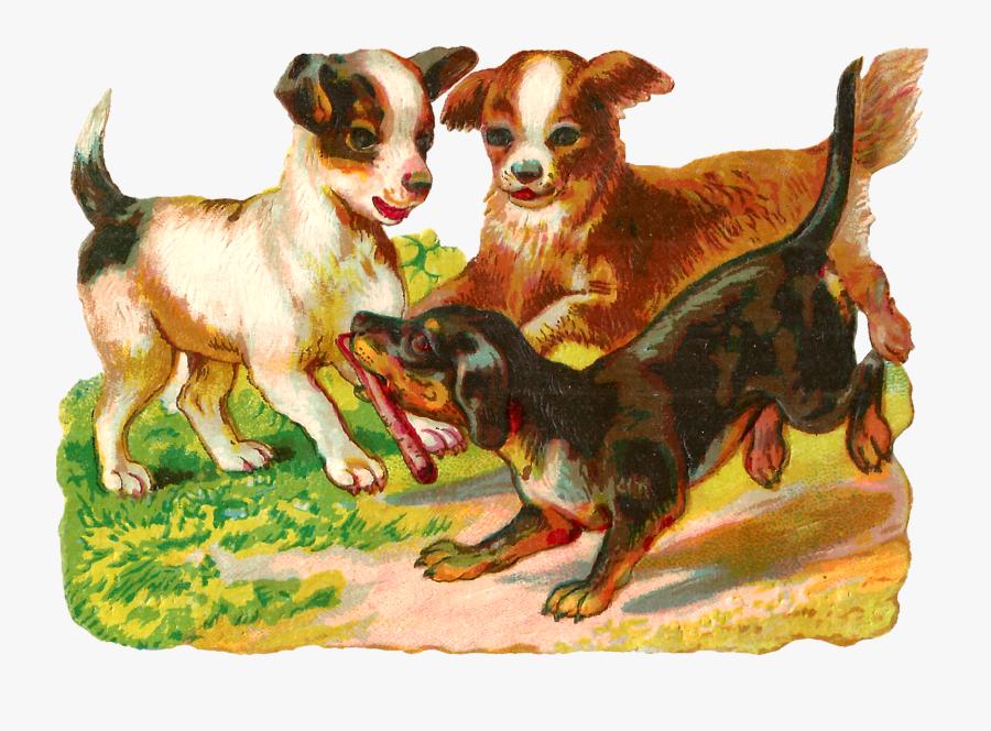 Puppy Dog Animal Digital Image Clipart Illustration - Ancient Dog Breeds, Transparent Clipart
