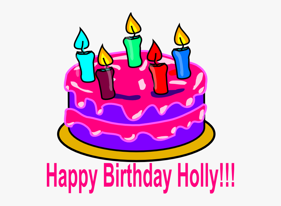 Transparent Holly - Happy Birthday Holly Clipart, Transparent Clipart