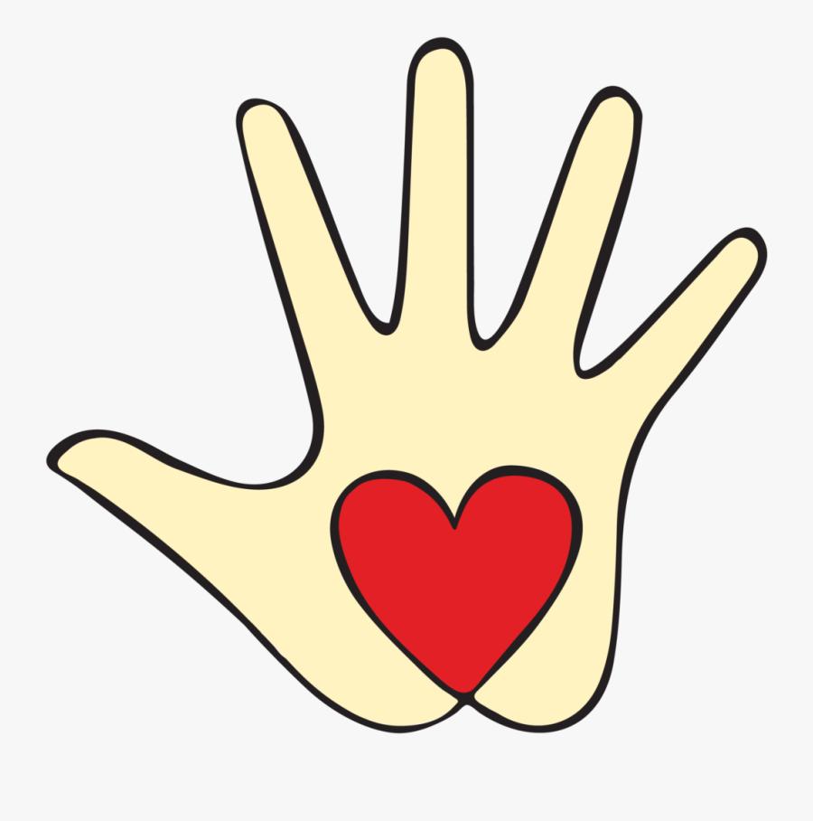 Handprint Clipart Volunteer Hand - Kind Hands Clip Art, Transparent Clipart