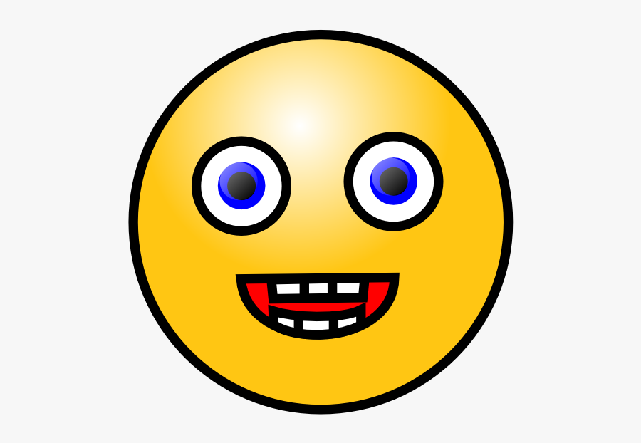 Free Vector Smiley Face Clip Art - Laughing Face Gif Png, Transparent Clipart