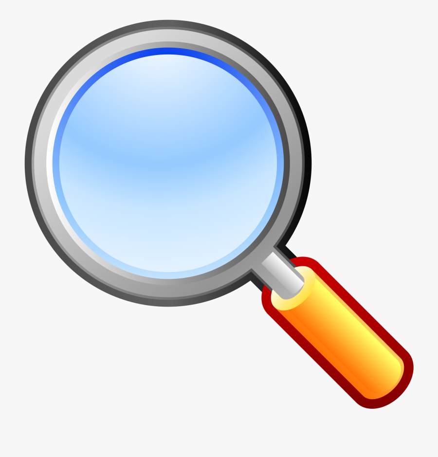 Magnifying Glass Clip Art Magnifying Glass Vector Image - Magnifying Glass Clipart, Transparent Clipart