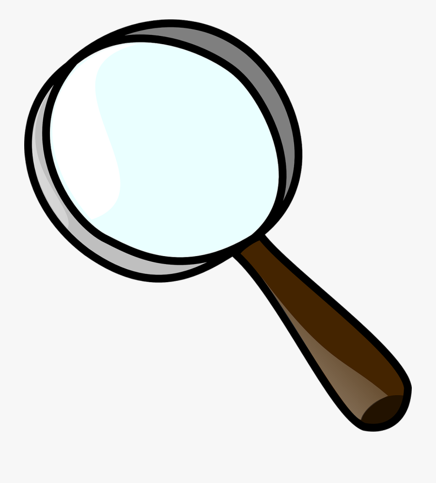 Clipart Black And White Library Magnifier Clip Art - Clip Art Magnifying Glass, Transparent Clipart