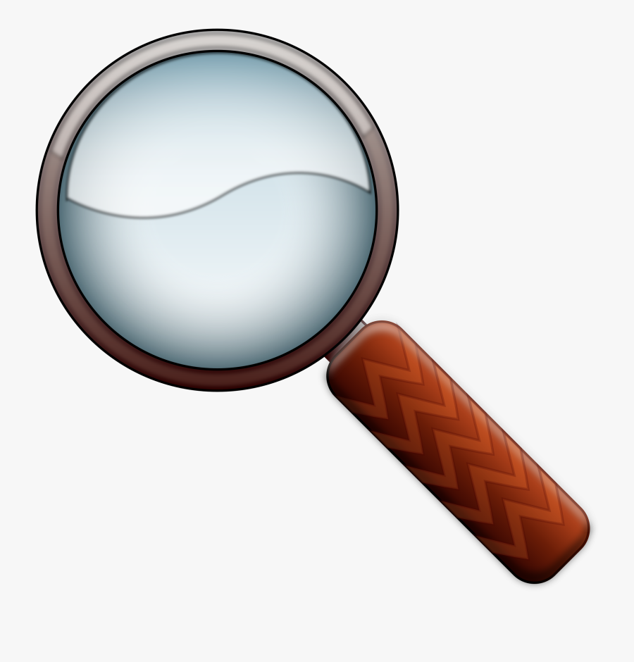 Magnifying Glass Clipart For Print - Magnifying Glass Png, Transparent Clipart