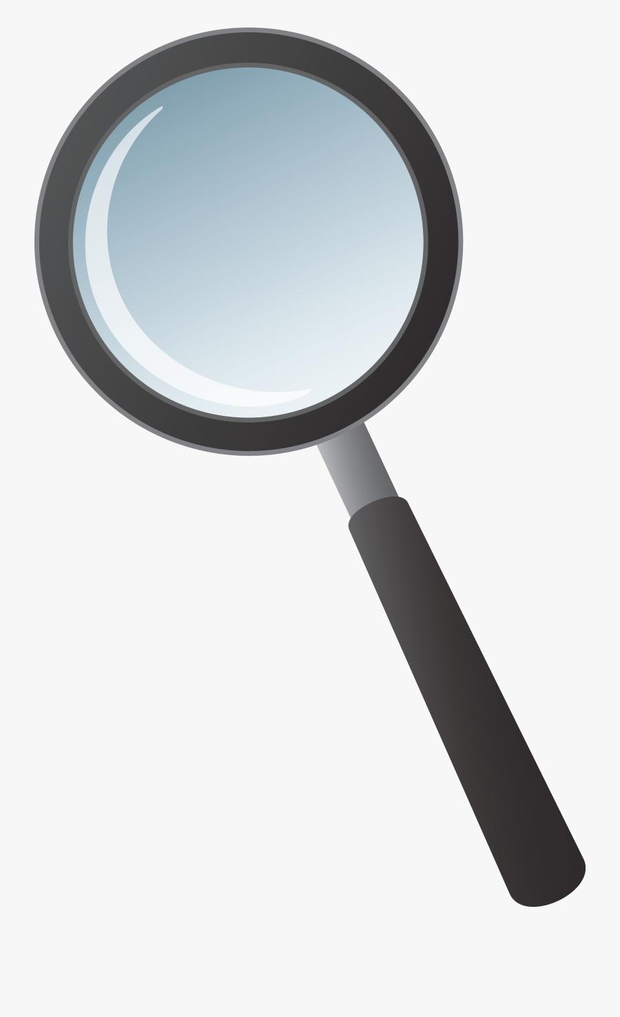 Clip Art Magnifying Glass, Transparent Clipart