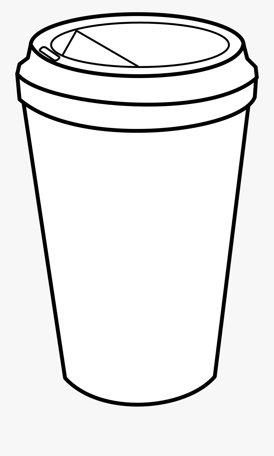 Calendar - Clipart - Black - And - White - Go Cup Of Coffee Drawing, Transparent Clipart