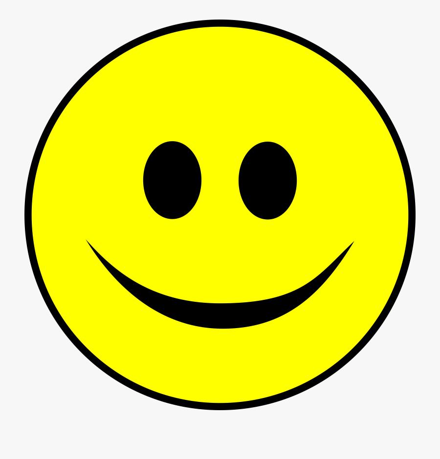 Transparent Smiley Face Clipart - Smiley Face Clipart Png, Transparent Clipart