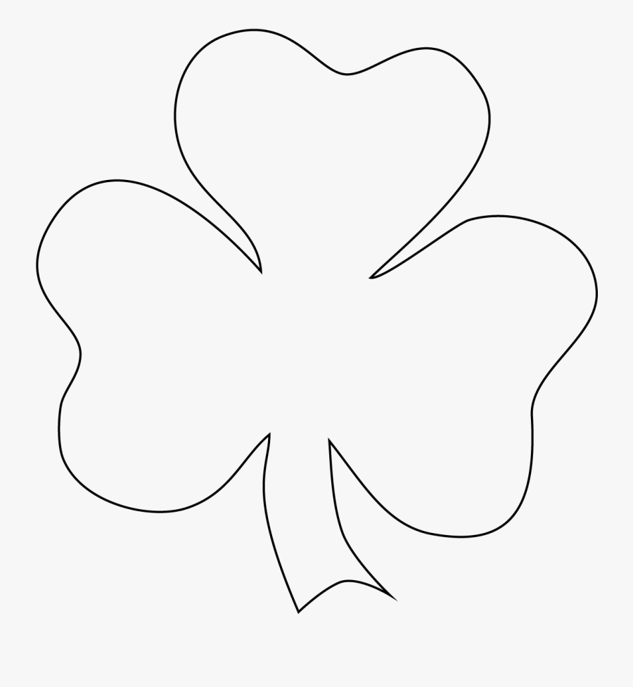 Free Shamrock Clipart The Cliparts - Printable St Patrick's Day Shamrock, Transparent Clipart
