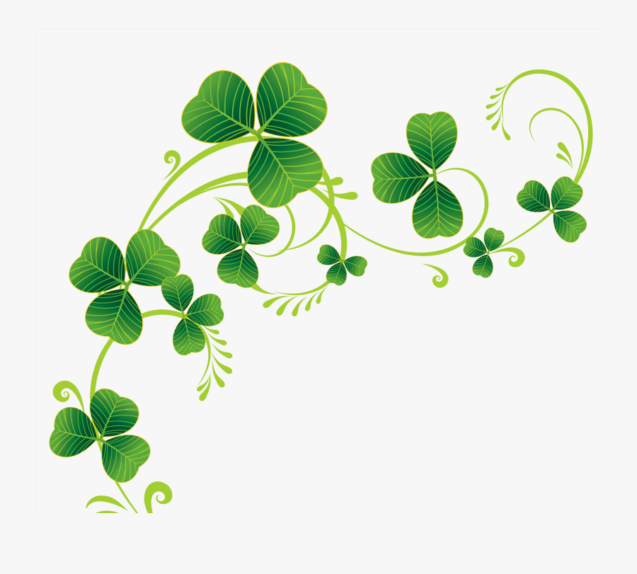 Four Leaf Clover Clipart For Free Download - Clip Art Shamrocks, Transparent Clipart