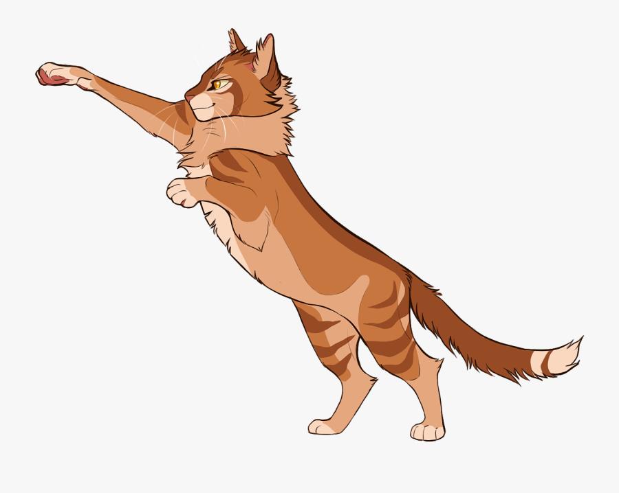 Lion Clip Cat - Lionblaze Climbtothestars, Transparent Clipart