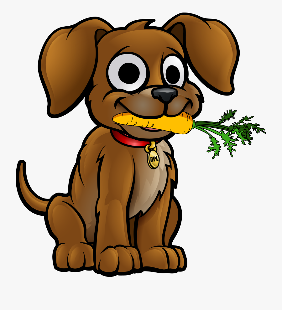 Fetch A Veg Fundraiser - Dog Eating Clip Art , Free ...