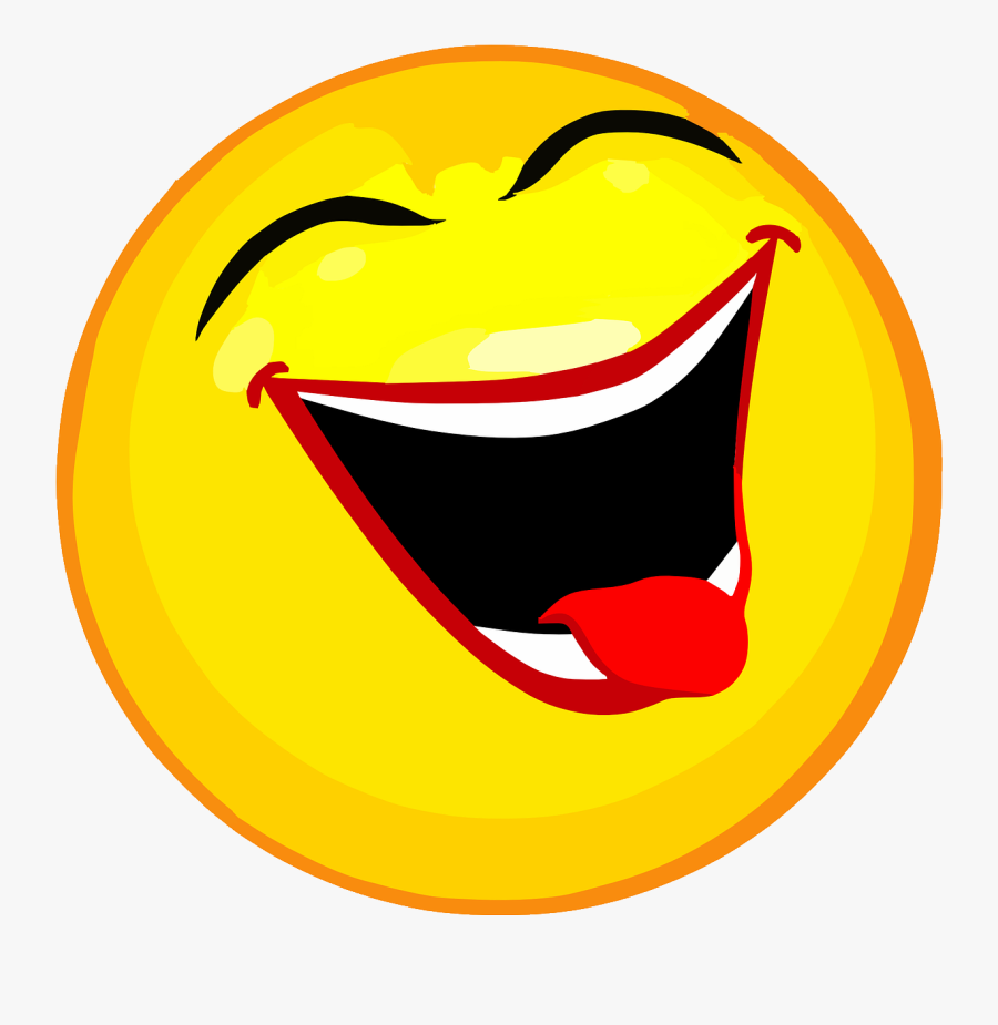 Laughing Smiley Face Clip Art - Smiley Face, Transparent Clipart