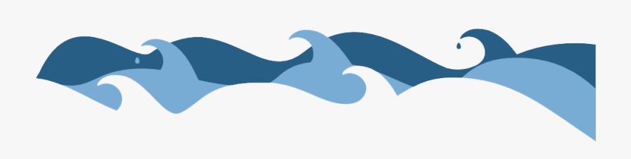 Clipart Waves Simple - Transparent Background Waves Clipart, Transparent Clipart