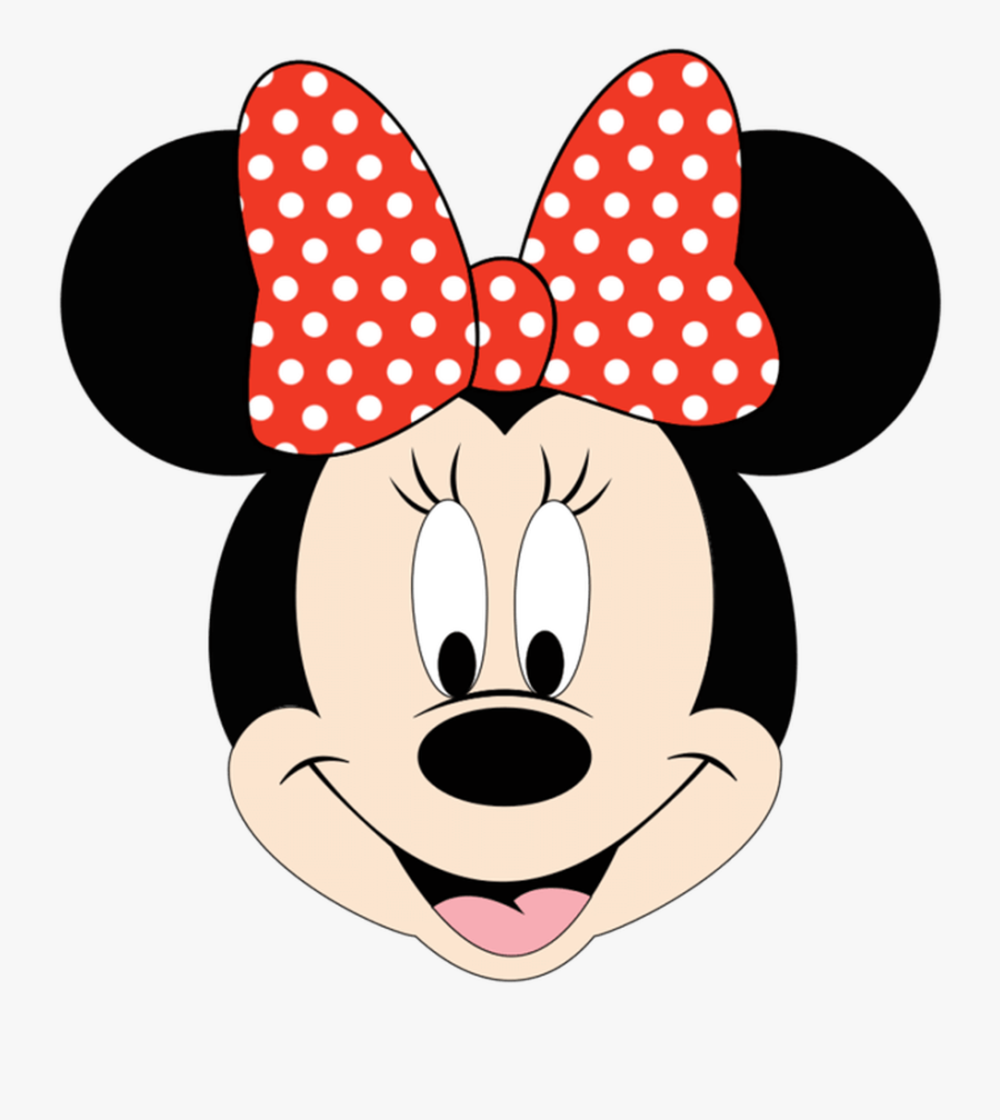 Minnie Mouse House Clipart - Minnie Mouse Face Clipart, Transparent Clipart