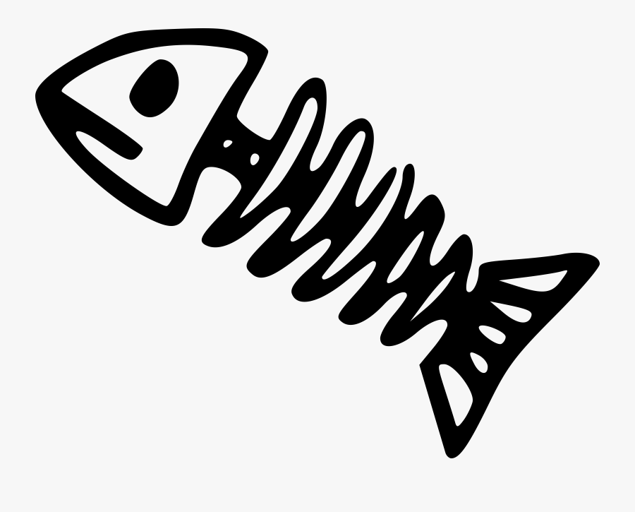 Fish - Clipart - Black - And - White - Draw A Dead Fish, Transparent Clipart