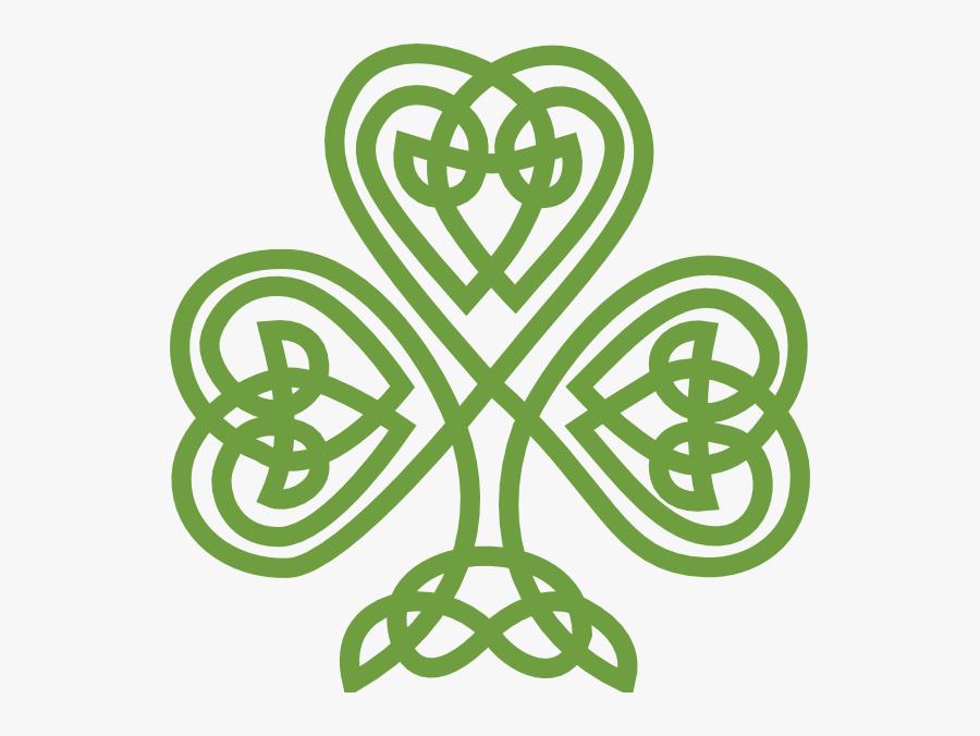 Celtic Transparent Pencil And - Celtic Shamrock Png, Transparent Clipart