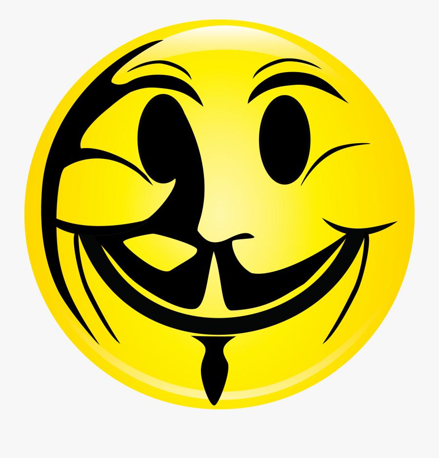 Evil Smiley Face Clipart - Evil Smiley Face, Transparent Clipart