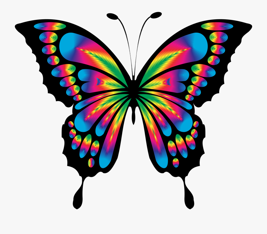 Clipart Of A Butterfly, Transparent Clipart