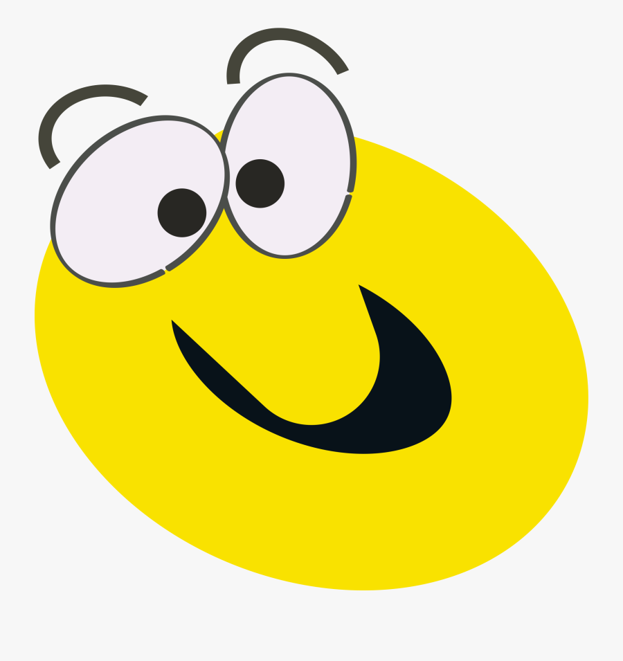 Smiley Face Clip Art Animated - Cartoon Smiley Face Moving, Transparent Clipart