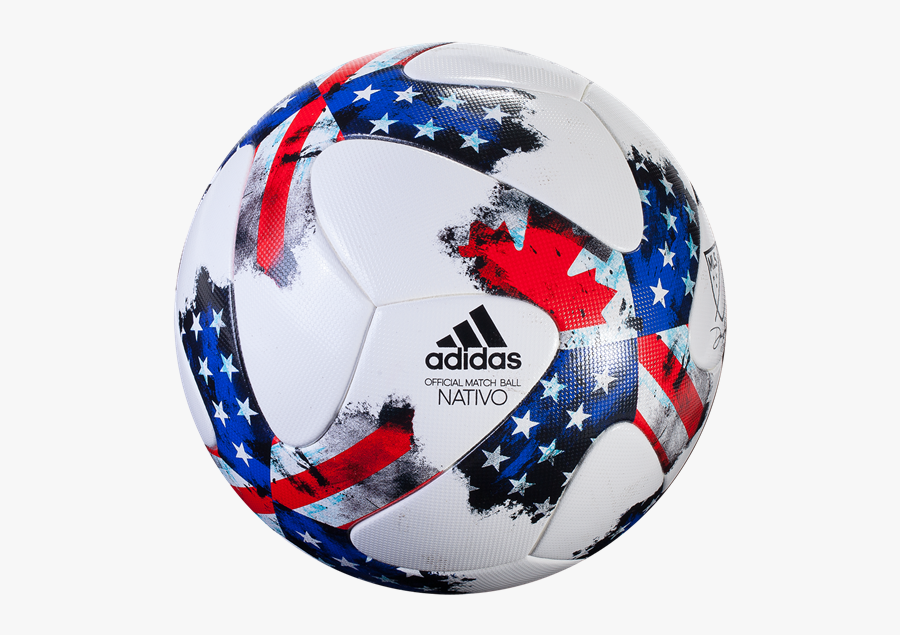 Usa Soccer Ball Png Adidas Mls Soccer Ball Free Transparent Clipart Clipartkey