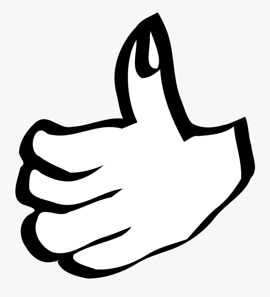 Thumb Up - Thumbs Up Clip Art, Transparent Clipart