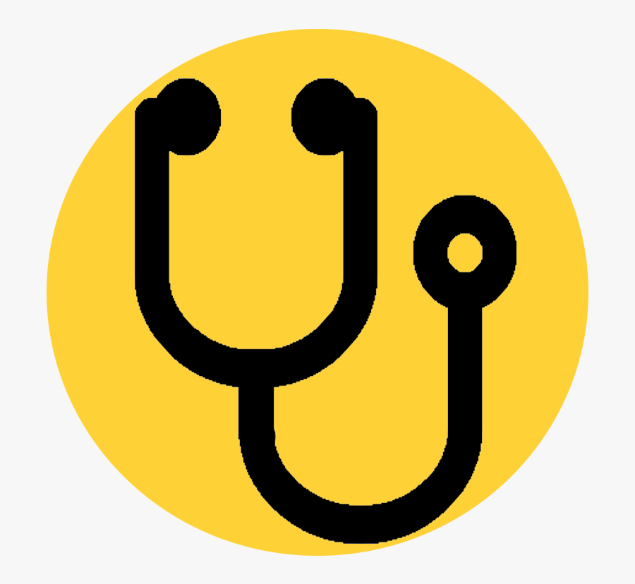 Black Stethoscope Icon Clipart , Png Download - Stethoscope Font Awesome, Transparent Clipart