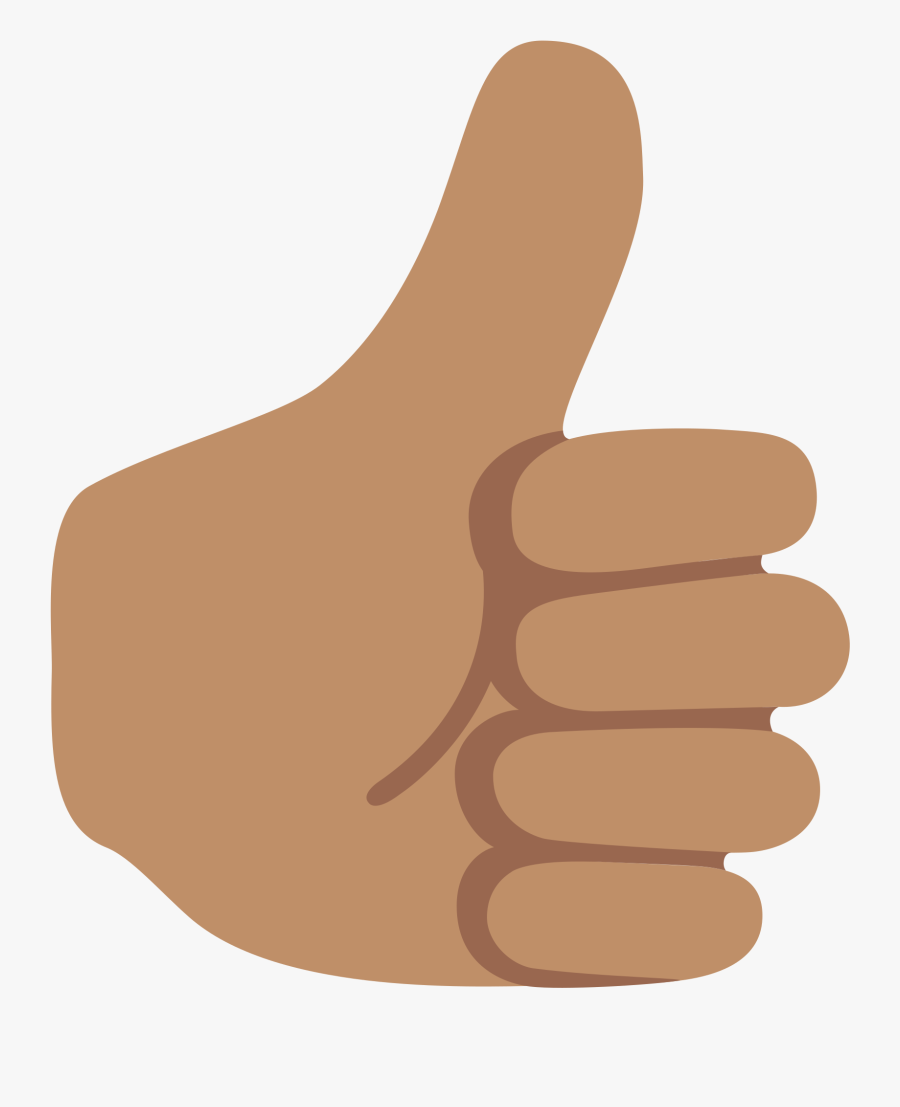 Transparent Facebook Thumbs Down Png - Thumbs Up Emoji Hd, Transparent Clipart