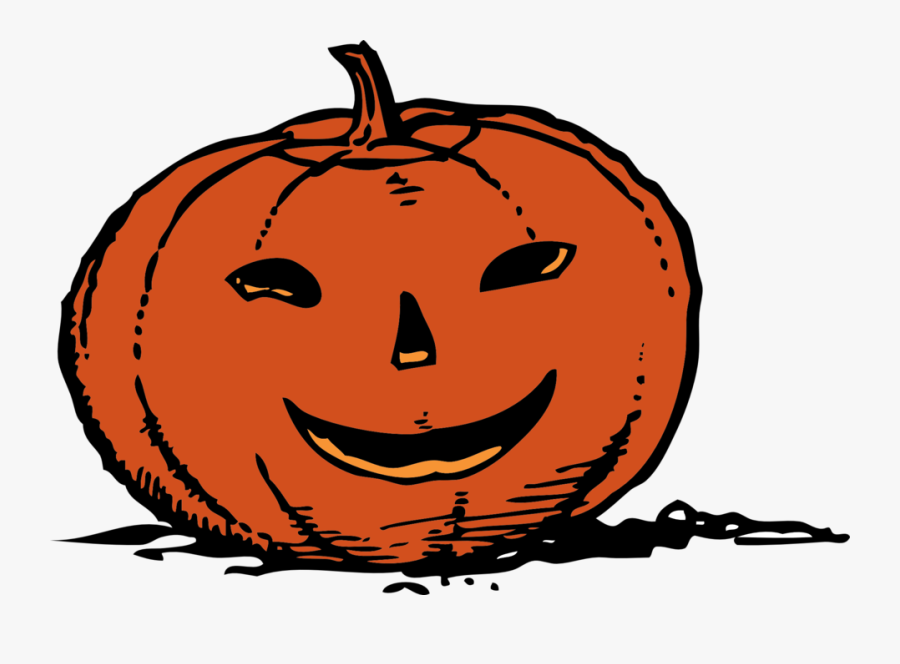 Transparent Pumpkin Clip Art - Happy Jack O Lantern Face, Transparent Clipart