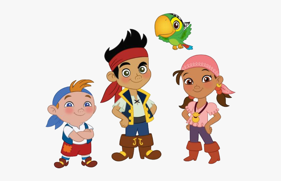 Izzy Jake And The Neverland Pirates Characters, Transparent Clipart