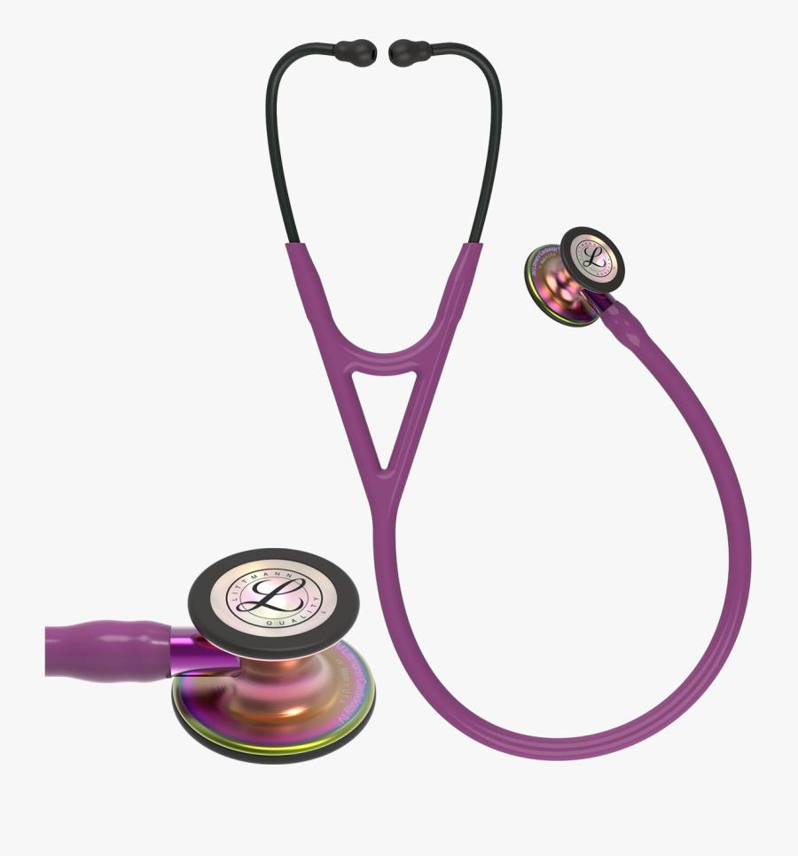 """Littmann 3m Cardiology Iv Stethoscopes """"  Class= - Littmann Cardiology Iv Rainbow, Transparent Clipart"""