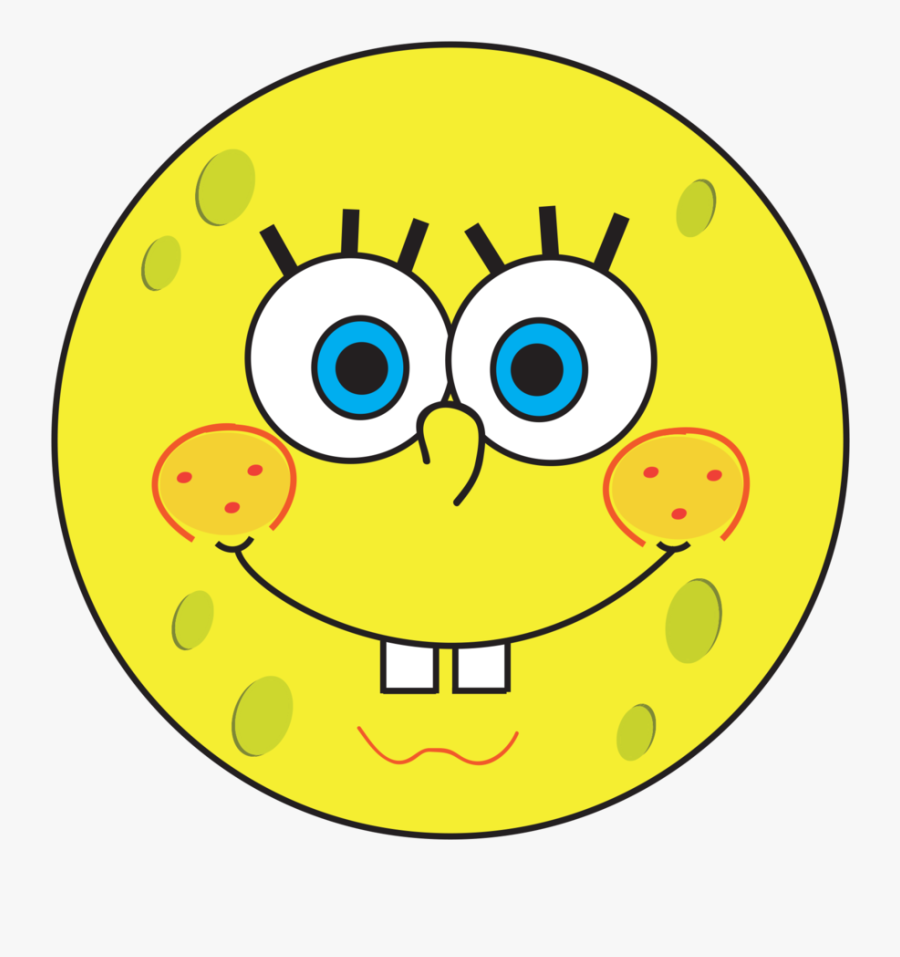Thumbs Up Clipart Smiley Face - Smiley Face Spongebob, Transparent Clipart
