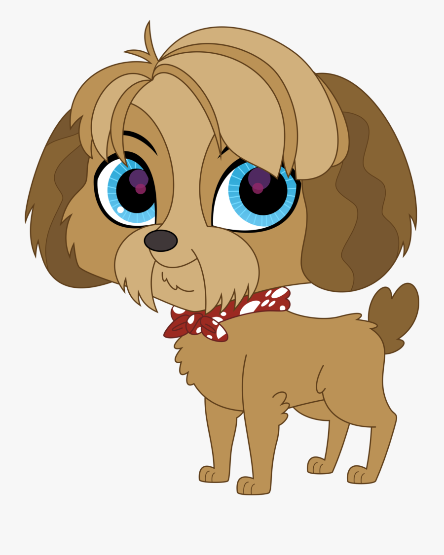 Dog Watching Tv Clipart - Littlest Pet Shop Dog Characters, Transparent Clipart