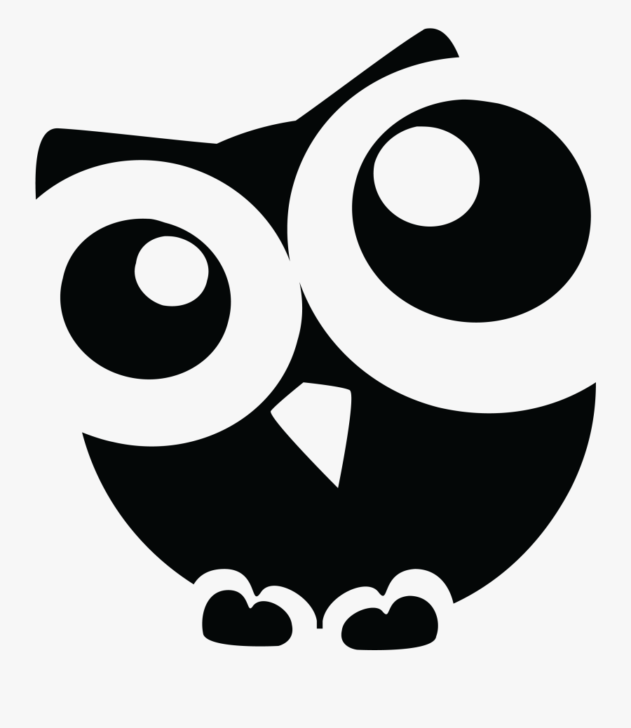 Clip Art Freeuse Huge Freebie - Owl Clip Art Free Black And White, Transparent Clipart