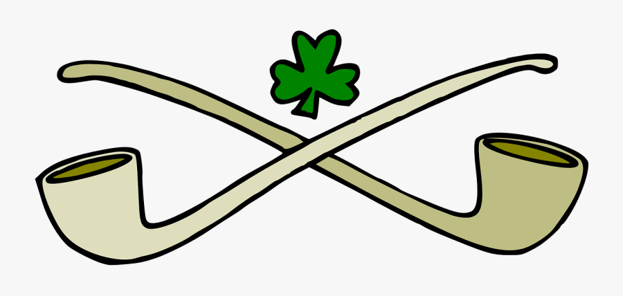 """St Patrick""""s Day Clipart - Irish Pipe, Transparent Clipart"""