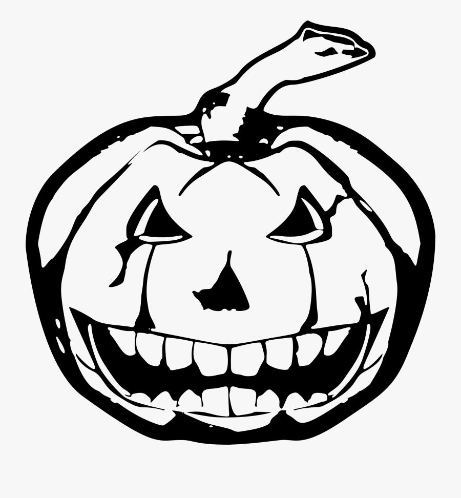 Clip Art Image Library Techflourish Scary - Spooky Jack O Lantern Drawing, Transparent Clipart