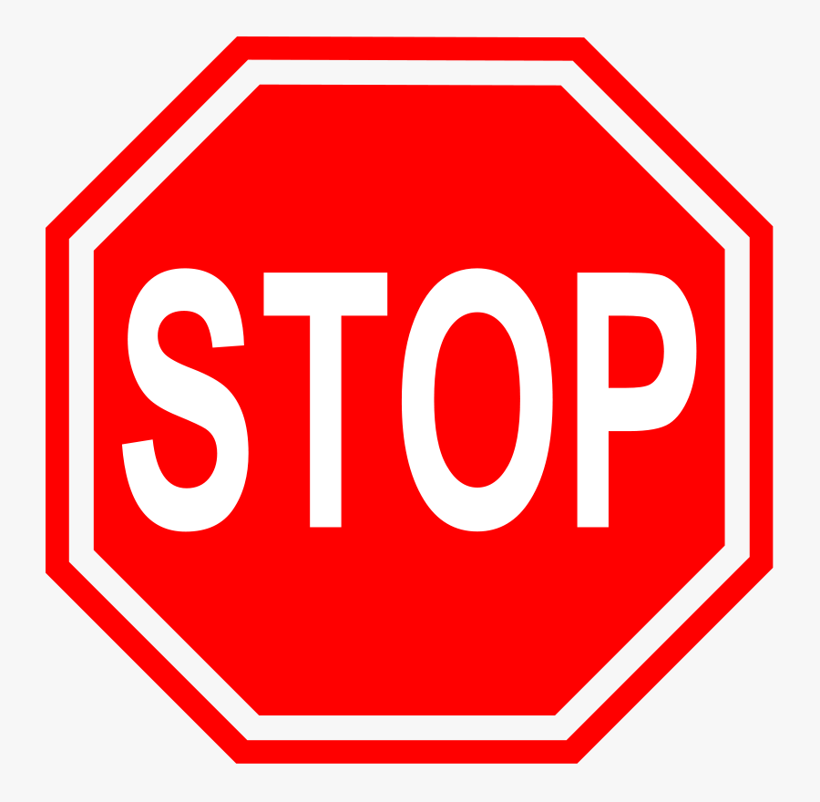 Stop Sign Clipart - Stop Sign For Autistic Child, Transparent Clipart