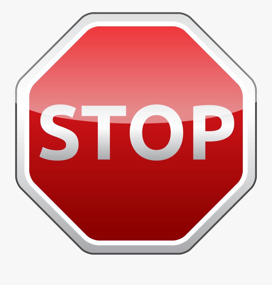 Stop Sign Png Clipart - Transparent Stop Sign Png, Transparent Clipart