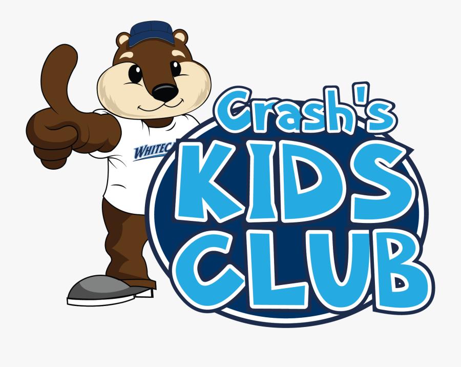 "Crash""s Kids Club - Kids Club Mascot, Transparent Clipart"