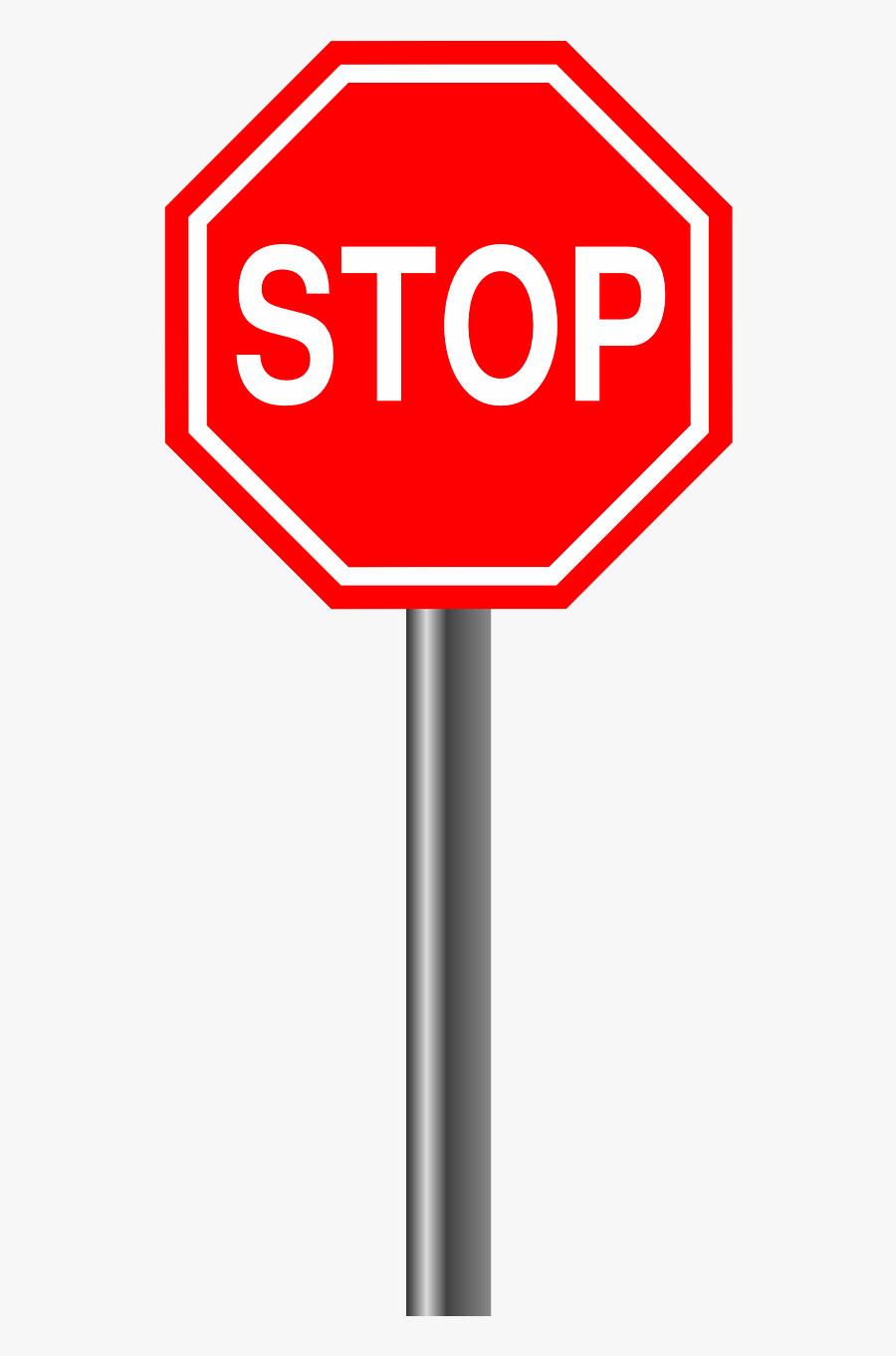Stop Sign Clipart Png, Transparent Clipart