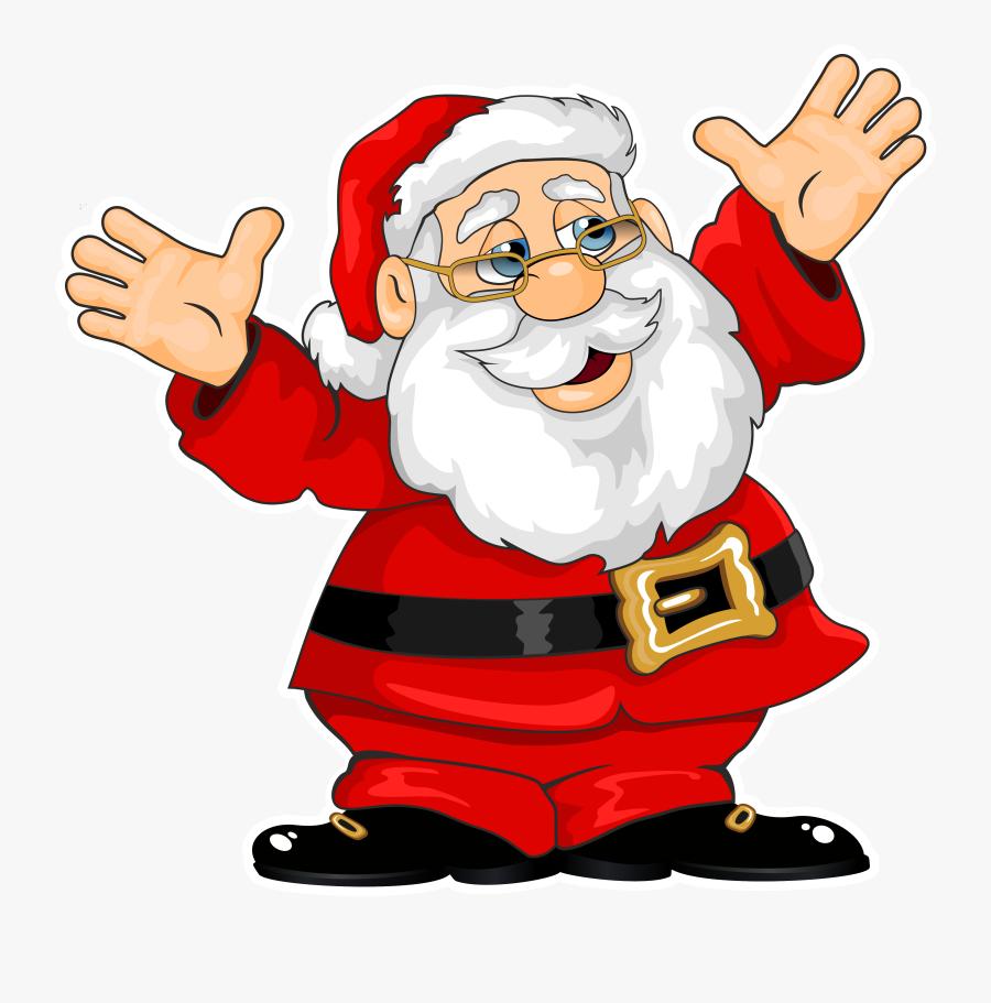 Santa Claus Clipart - Santa Claus Png Gif, Transparent Clipart