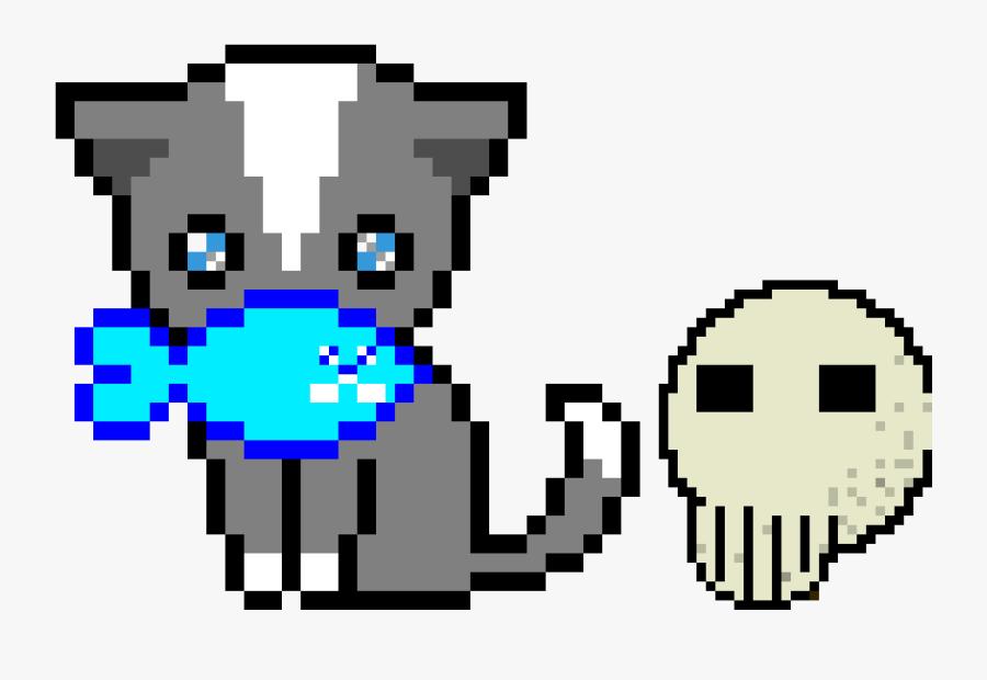 A Murderer Cat - Pixel Art Cute Cat, Transparent Clipart