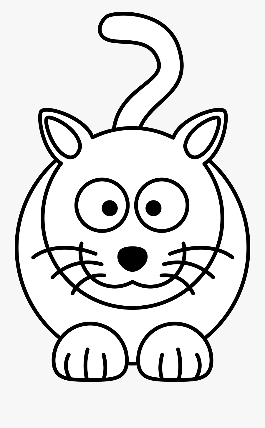 Line Art Drawings Cartoon, Transparent Clipart