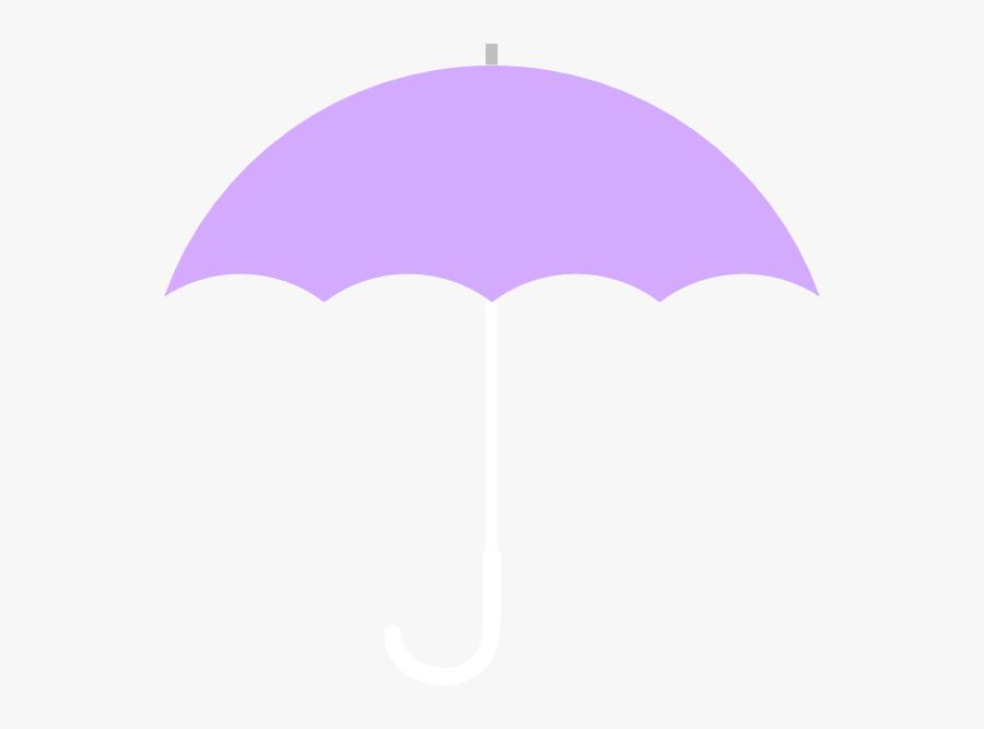 Clip Art Umbrella No Handle, Transparent Clipart