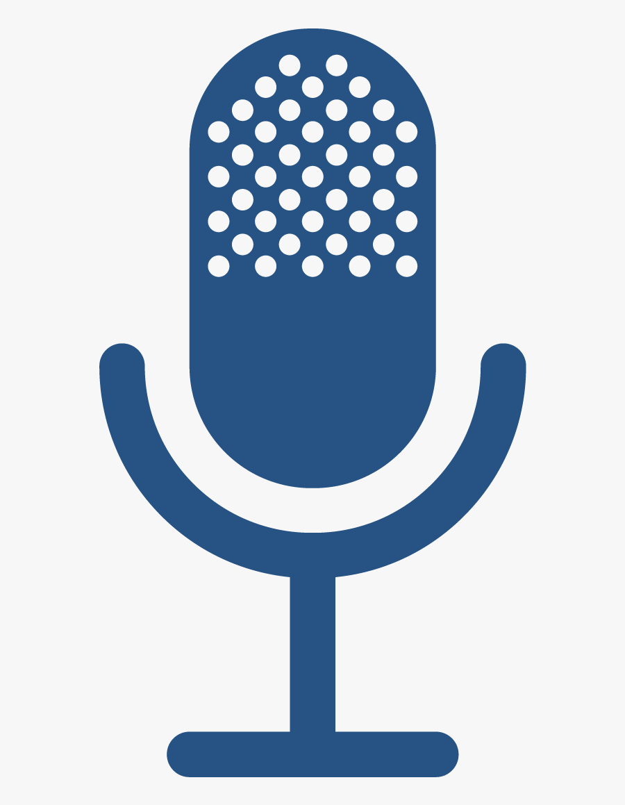 Microphone Computer Podcast Icons Free Frame Clipart - Broadcast Icon Transparent Background, Transparent Clipart