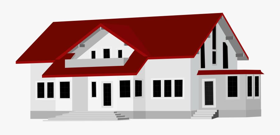 Large House Png Clip Art - Clip Art Houses, Transparent Clipart