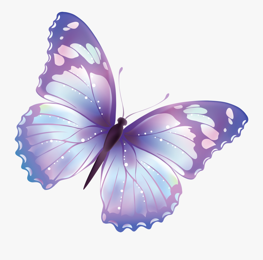 Pin By Rt Digital - Cartoon Transparent Background Butterfly, Transparent Clipart