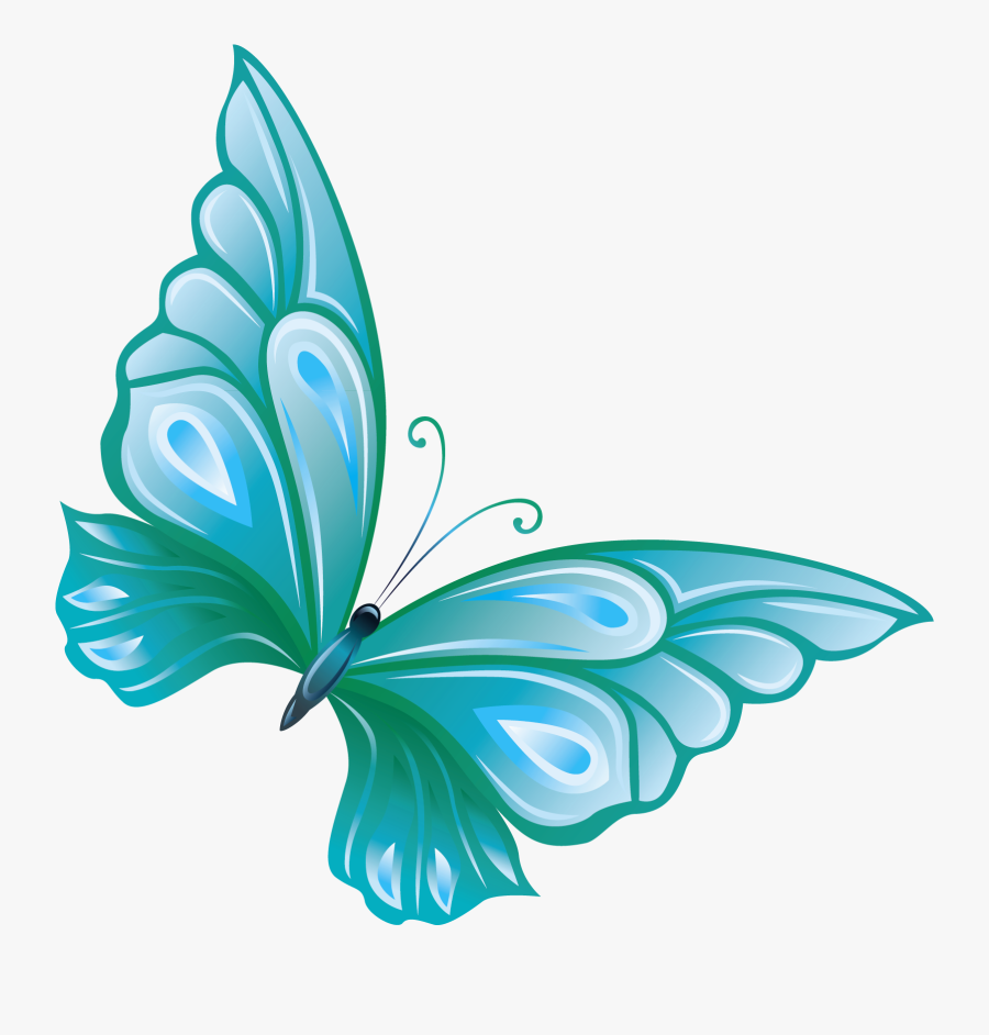 Butterflies Butterfly Clipart Transparent Background - Transparent Background Butterfly Clip Art, Transparent Clipart